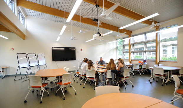 Retaining a Healthy Indoor Environment in On-Demand Mixed-Mode Classrooms